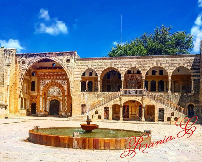 lebanesearchealogy beiteddinepalace amazing historic amirbachir ... (Beiteddine Palace)