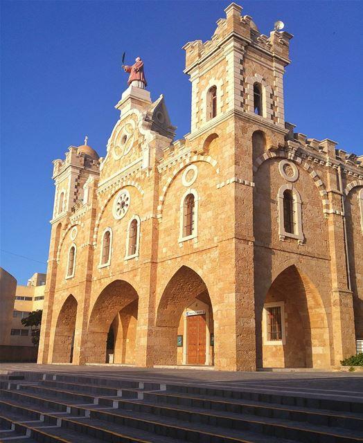 Saint Stephan church 🙏 lebanon nature naturelovers natureporn ... (Batroûn)