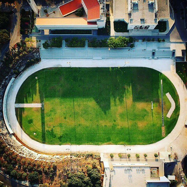 Balamand Green Field from 200m ➡️ lebanon  koura  universityofbalamand ... (University of Balamand)
