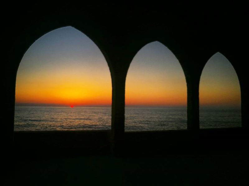 ================================== sunset sunsetporn sunsetlovers sun... (Batroûn)