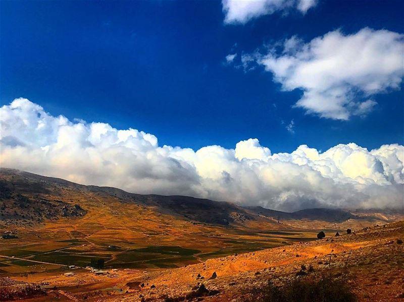 Good morning!Amazing view from jord_elhermel by @hassantabikh Hermel ...