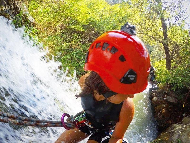 You water me 💦••• Gopro Goprome Waterfall MyLifeAMoi Lebanon ... (Lebanon)
