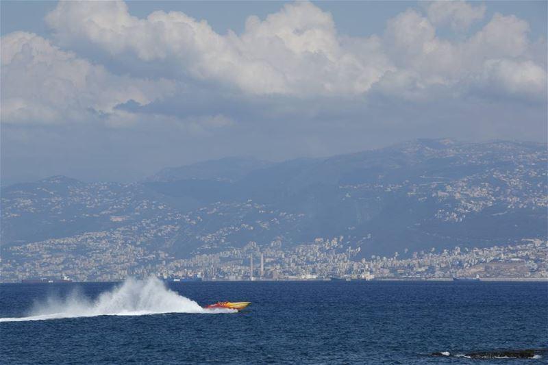 Still summer in beirut bay ... lebanon lebanontimes ... (Beirut, Lebanon)