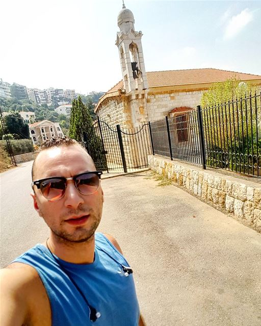 morning lebanon walkingday walking lebanontimes ... (Beit Meri, Mont-Liban, Lebanon)