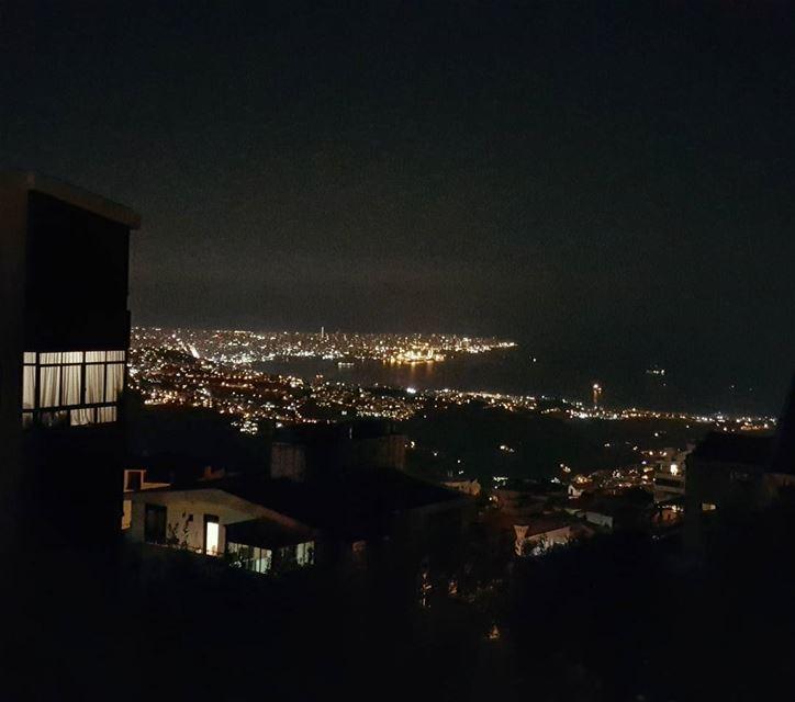 Jounieh from Ballouneh 💕💕 ... jounieh jouniehbay ballouneh Lebanon...