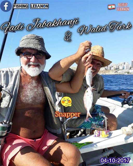 @fadiJabakhanji @turk.walid @fishinglebanon - @instagramfishing @jiggingwor (Beirut, Lebanon)