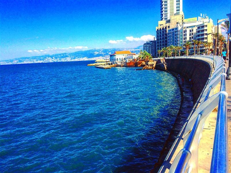 Here's to staying positive and staying negative! 💙 adventure lebanon ... (Hamra, Beyrouth, Lebanon)