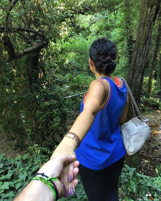 Follow me to paradise 🌳☘️🍀🌱🌿🍃🌳 peterwenmaken followme ... (Chouf)