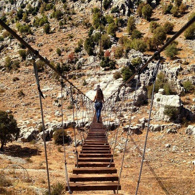 Credit to @lama_ghawch -  All bridges can be crossed, so do not give up 🎀...