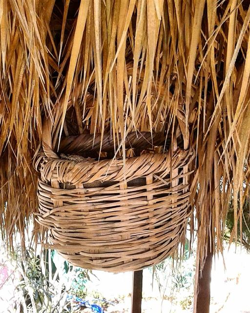 Fill the basket.... straw basket beach nature decoration designs ...