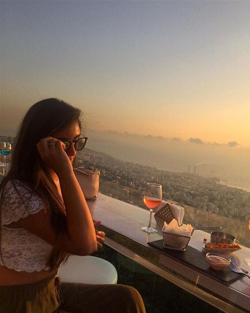 Chasing sunsets 🌅 Sunsetting BeautifulSunsets BeautifulLebanon ... (The Terrace - Restaurant & Bar Lounge)