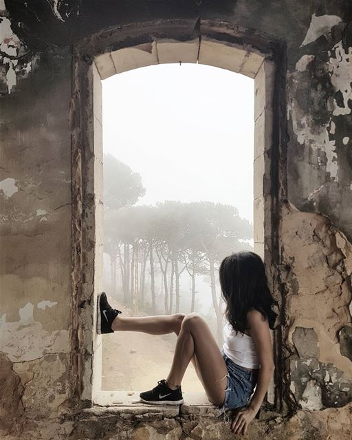 ~ Abandoned ~... abandoned abandonedplaces abandoned_junkies ... (Bois De-Boulogne, Mont-Liban, Lebanon)