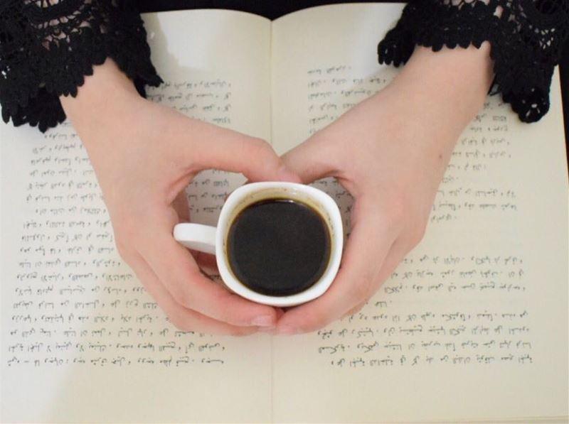 صباح الخير متابعيني❤️ book coffee lebanon new unique myhands white ...