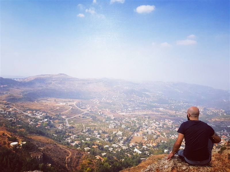 Reaching new heights ! high clif adventure adventuretime weekend ... (Falougha, Mont-Liban, Lebanon)