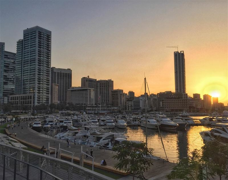 """It was sunsets that taught me that beauty sometimes only lasts for a... (Beirut, Lebanon)"
