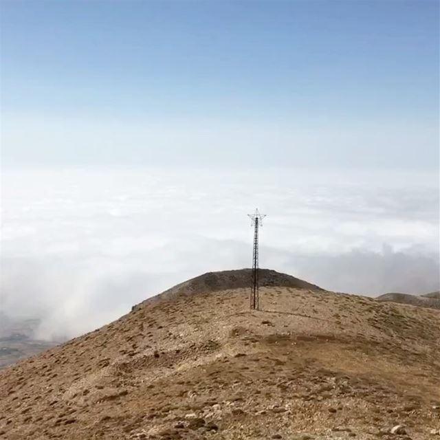 Love hiking above the clouds 💭💭💭 faraya hike heaven lebanon ... (Faraya, Mont-Liban, Lebanon)
