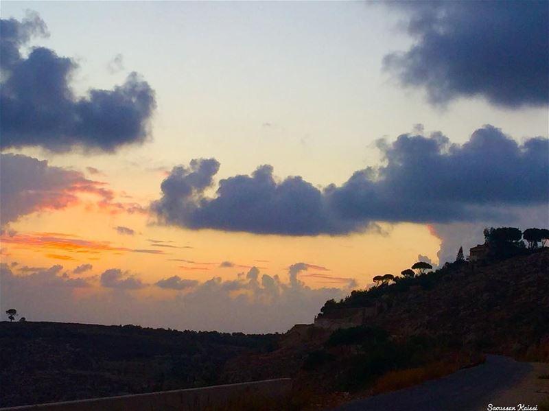 today sunset beautiful visitlebanon ...