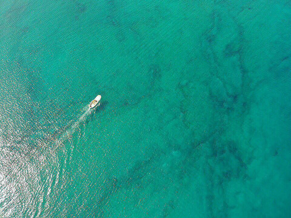 From another perspective 🚁 lebanon lebanon_hdr tripoli mina boat ... (Palm Islands- El Mina Lebanon)