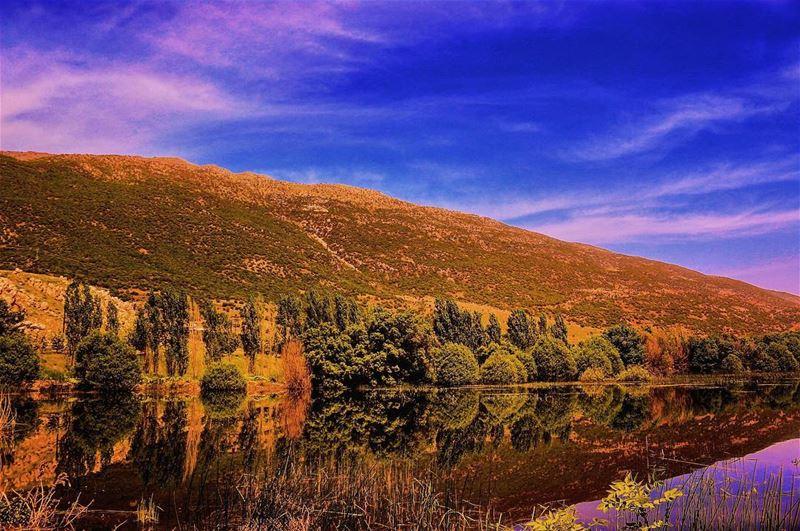 🍂🍁💛 lebanon sunset mountains scenery sunsets sunsetlovers ...