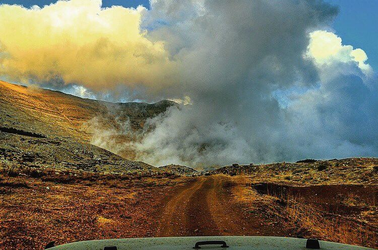lebanon mountains jeep offroad wrangler clouds cloudporn ...