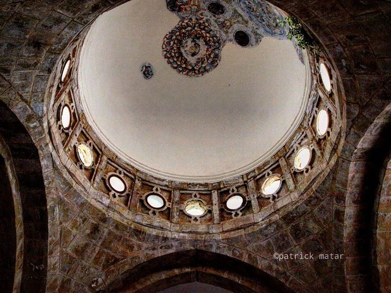 Vaulted dome 😍 ihavethisthingwithdomes  art  arts  artist  artists ... (Beiteddine Palace)