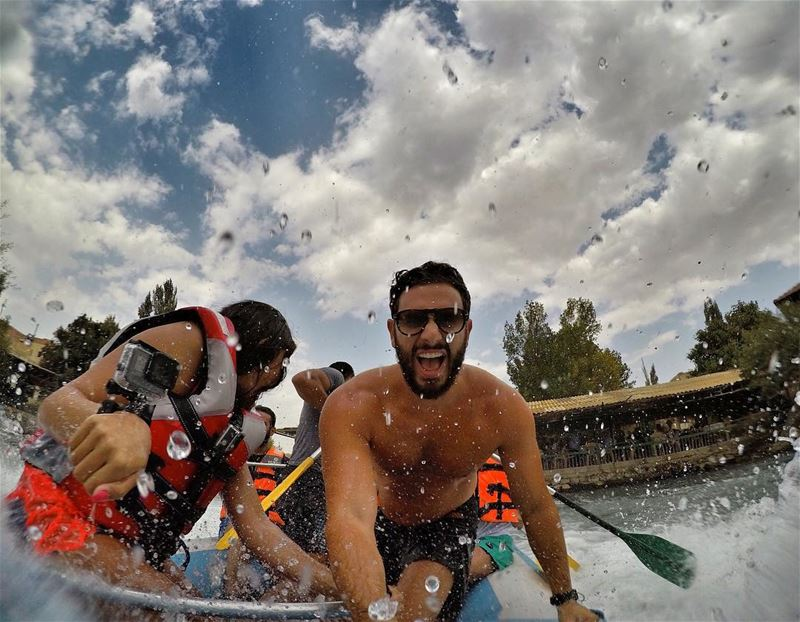 Small Idea of the Week end? Rafting in El Assi River, in Hermel Bekaa,... (Al Assi River-Hermel, Lebanon)