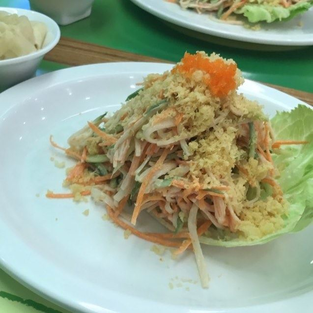 🦀 🥕 one of the best 😍 crab crabsalad seafood carrots beirut ... (SUSHi VERDE)