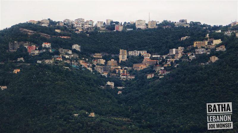 batha lebanon mountains sky house heart day photography ...