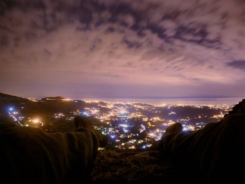 Come forth into the light of things, Let Nature be your teacher🌌🌌Shot... (Falougha, Mont-Liban, Lebanon)