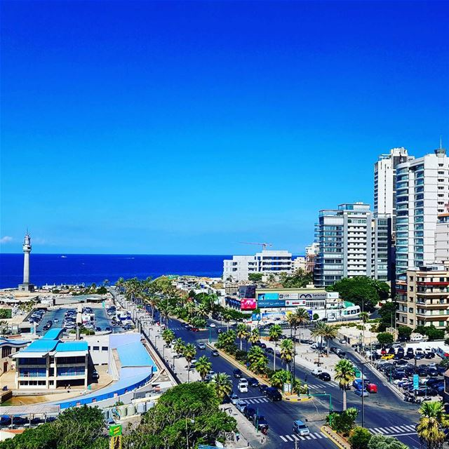 من قلبي سلامٌ لبيروت.. lebanon beirut peace love seaside autumn ... (Beirut, Lebanon)