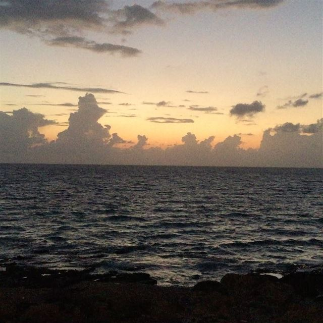 today sunset beautiful...