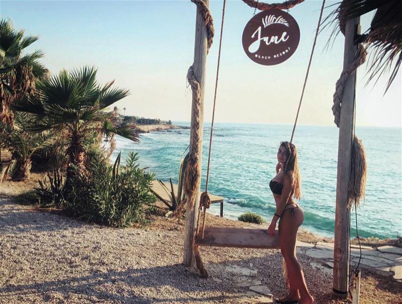 My soul is at peace 🦋.... beach sun lifeinabikini summer booty ... (Jbeil جبيل)