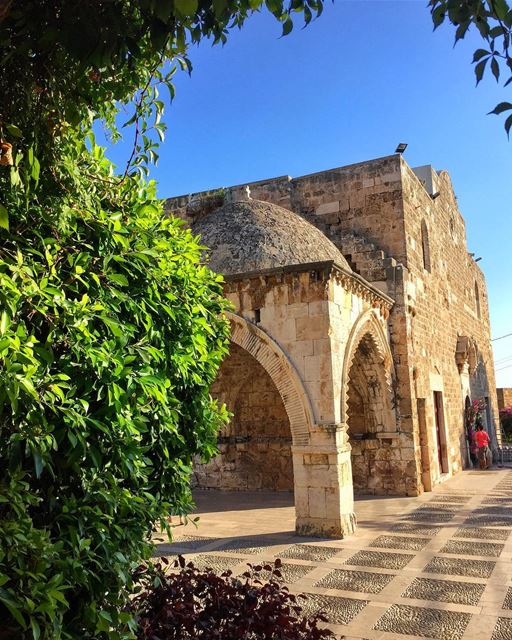 Architecture should speak of its time and place, but yearn for... (Eglise Saint Jean Marc - Byblos)