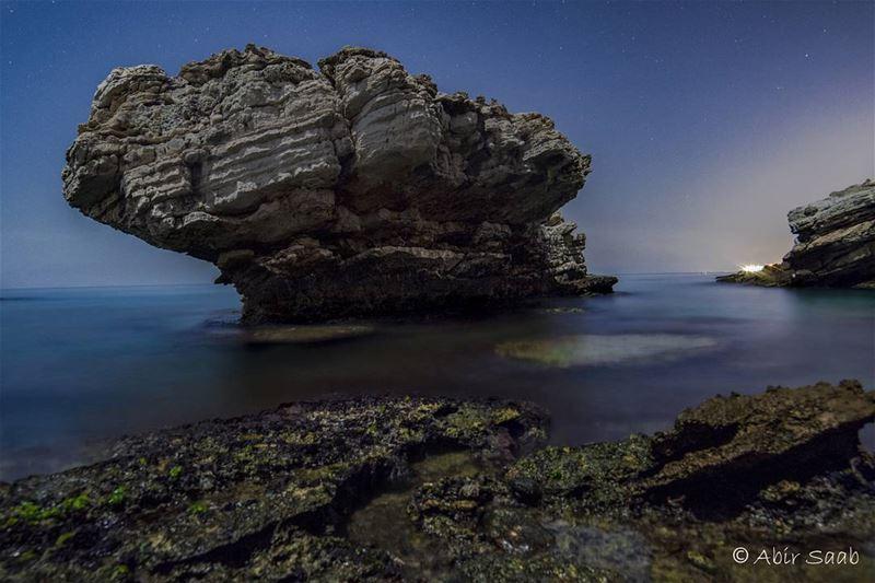 🇱🇧🇱🇧 LEBANON 🇱🇧🇱🇧 Lebanon kfarabida beach night nightshot ... (Fadouss, Liban-Nord, Lebanon)