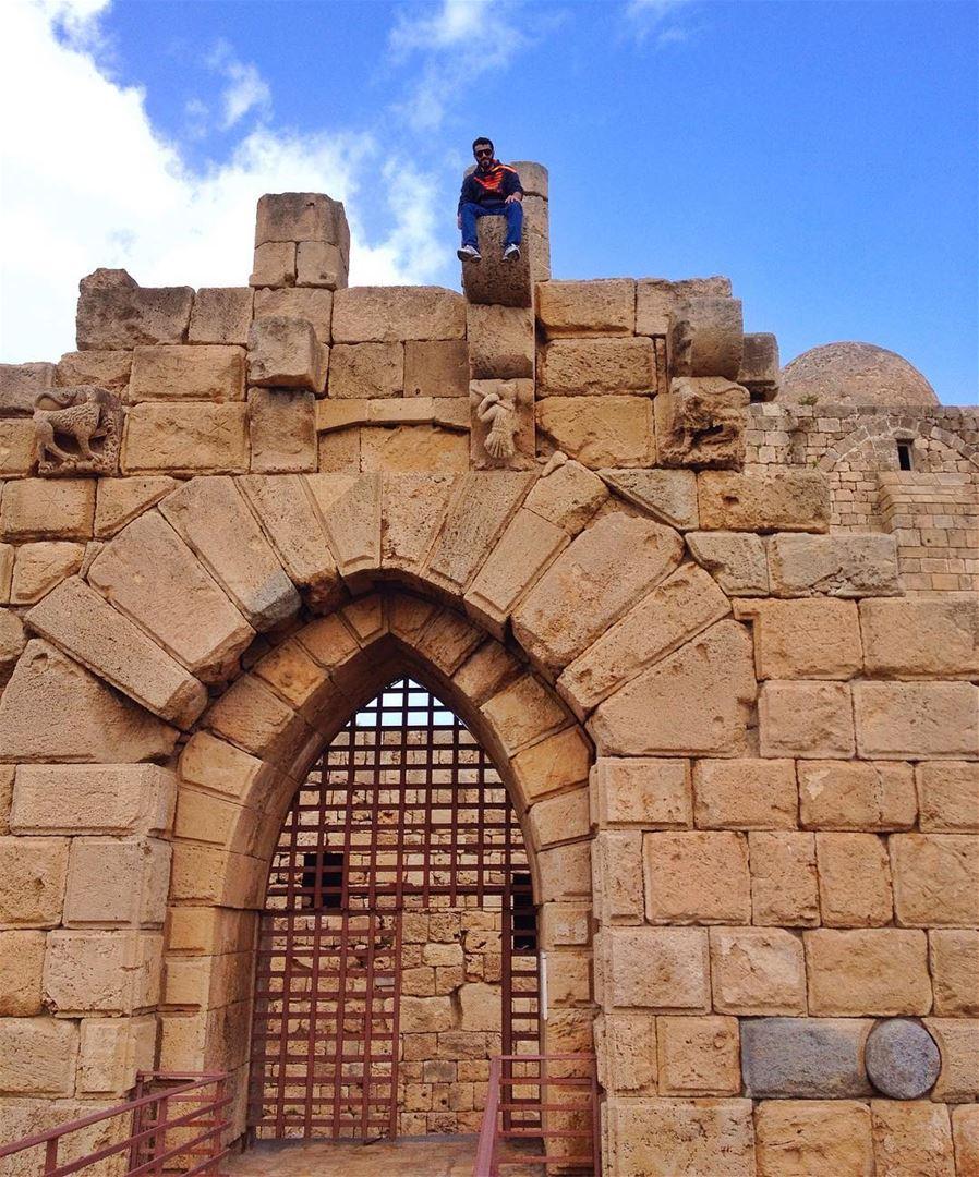 And I hereby distinctly and emphatically declare that I consider myself,... (Saïda, Al Janub, Lebanon)
