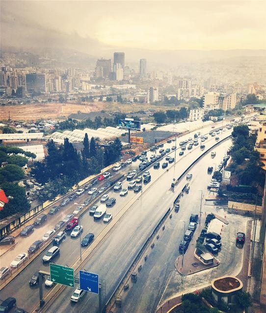 Beirut's Gloomy October. beirut lebanon sky travel natgeotravel ... (Beirut, Lebanon)