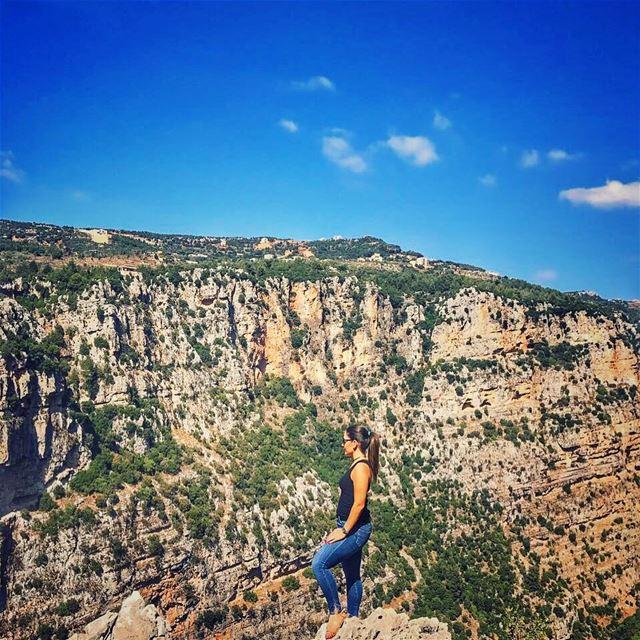 Change urself not the nature 🌳 view viewsoflebanon lebanonblog ... (Yahchouch)