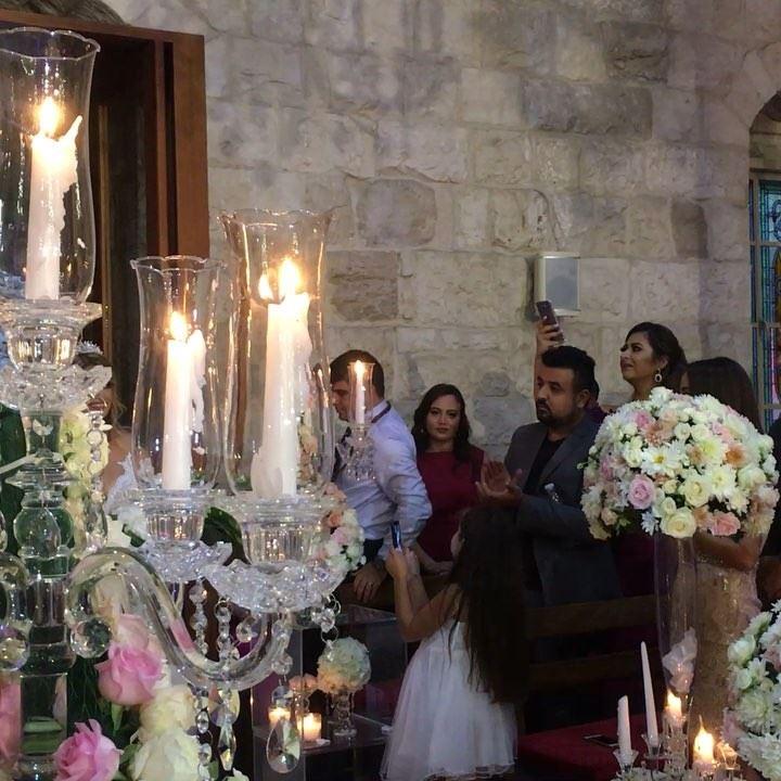 1000 mabrouk Bassel and Rita Allah yhannikon @pprolens weddingceremony... (Maghdoûché, Liban-Sud, Lebanon)