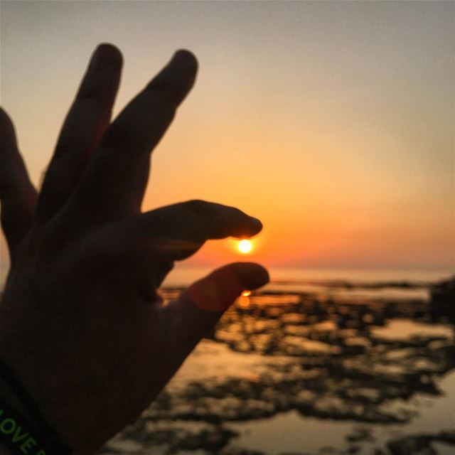 Catching a Sunset 🌅 peterwenmaken @livelovebyblos (Byblos, Lebanon)