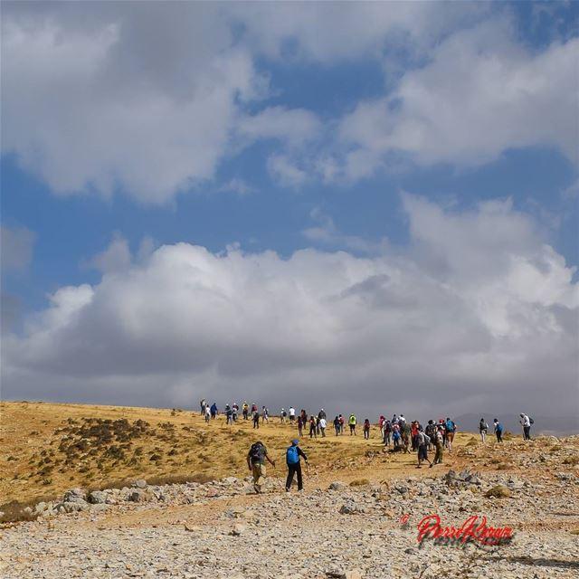 hiking hikingadventures hike ic_landscapes blue sky white clouds ...
