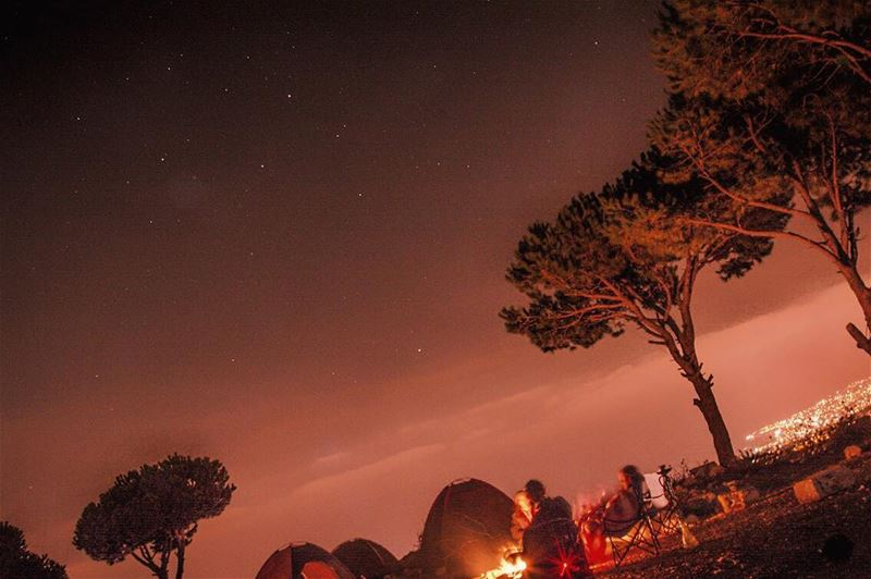 The night is still young...and so are we! camping nightphotography ...