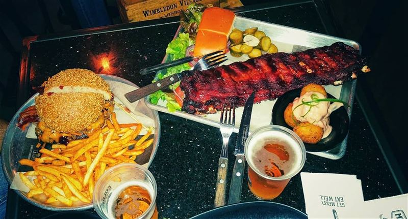 Its all about the barbecue 🍴.. RECOMMENDED @meatsandbread.lb @ferdinand (Meats and Bread)