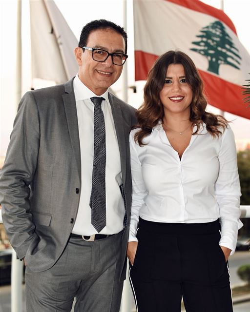 ᴛʜɪs ɪs ғᴀᴍɪʟʏ ʙᴜsɪɴᴇss 🙌🏻 🇱🇧 likefatherlikedaughter @johnnyfadlallah... (Four Seasons Hotel Beirut)