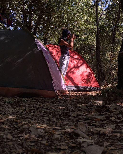 مش خرج 😑..... camping tent camp tryingtolookcool photography ...