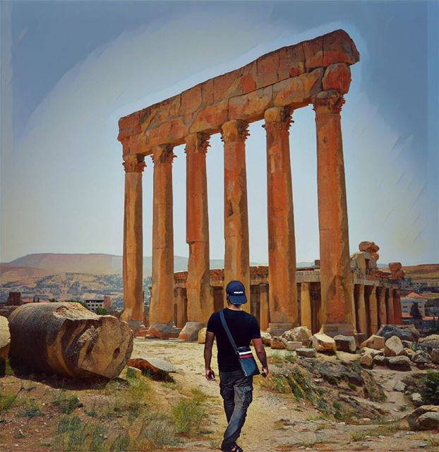 Good evening dear followers with this amazing viewPhoto taken by group... (Baalbek, Lebanon)