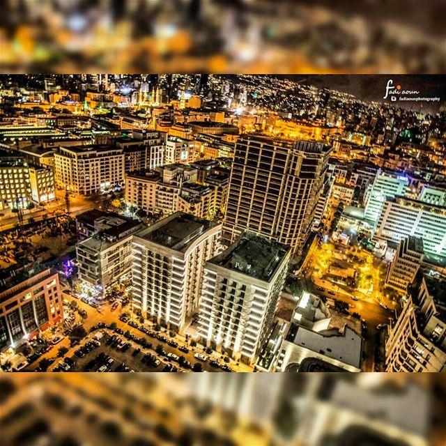photo fadiaounphotography beirut lebanon spectacular night ...