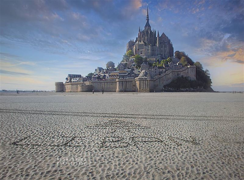Liban à mont_saint_michel A magical place.......... Lebanon...