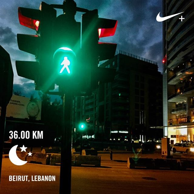 Wasn't my best run, but my longest!   sundayrunday  🏃🏻 beiruncrew ... (Beirut, Lebanon)