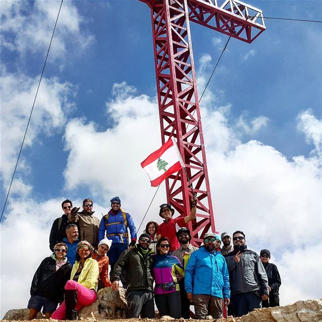 La coulée de Sannine hiking with born2hike lebanonspotlight ... (Mount Sannine)