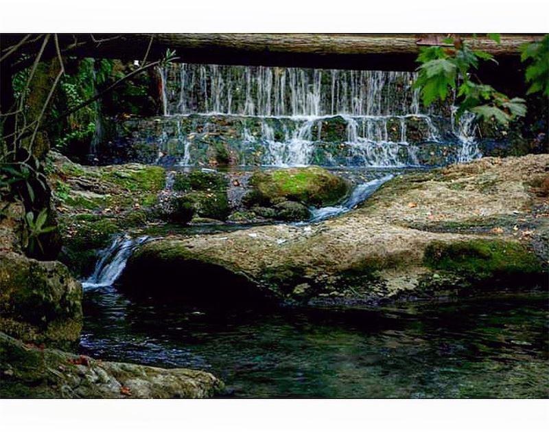 Backline Waterfalls - Ein el zarka (شلالات بعقلين الزرقاء), Lebanon | 2015... (Baakline, Mont-Liban, Lebanon)